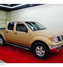 2005 desert gold metallic nissan frontier se crew cab 4430534 [ 1024 x 768 Pixel ]