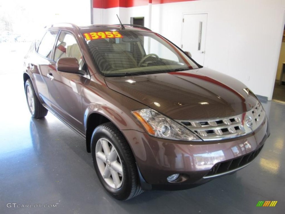 medium resolution of 2004 deep bordeaux metallic nissan murano se 44652042 photo 5