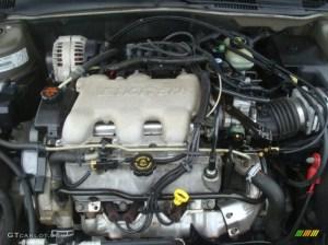 2001 Chevrolet Malibu LS Sedan 31 Liter OHV 12Valve V6