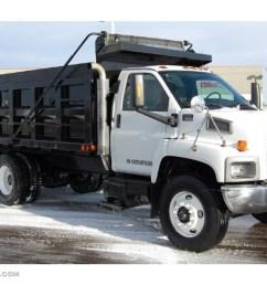 summit white 2005 gmc c series topkick c8500 regular cab dump truck exterior photo 44905888 [ 1024 x 768 Pixel ]