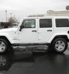 bright white 2011 jeep wrangler unlimited sahara 4x4 exterior photo 44914592 [ 1024 x 768 Pixel ]
