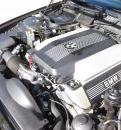 1998 bmw 7 series 740il sedan 4 4 liter dohc 32 valve v8 engine photo  [ 1024 x 768 Pixel ]