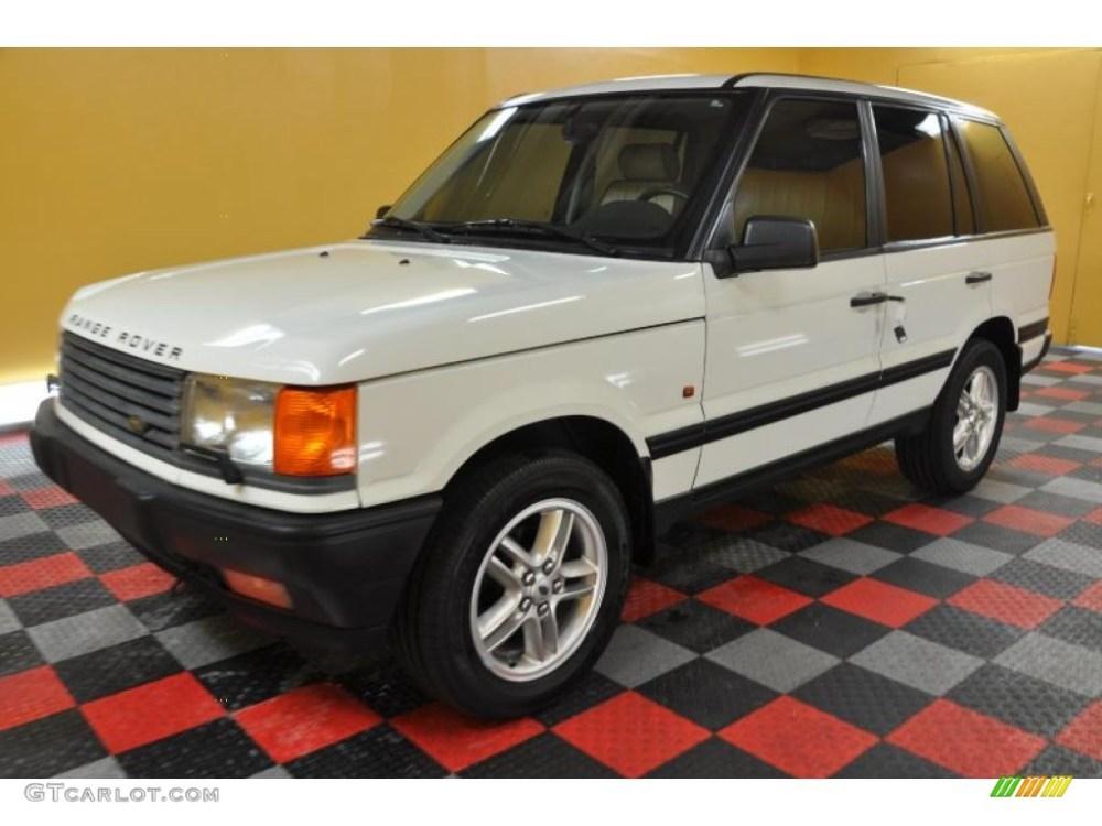 medium resolution of 1999 range rover 4 6 hse chawton white lightstone photo 2