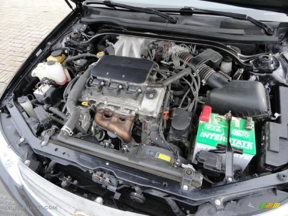 medium resolution of 2002 toyota solara sle v6 convertible 3 0 liter dohc 24 valve v6 engine photo