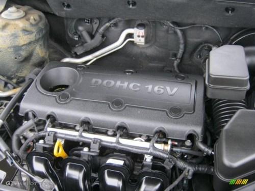 small resolution of 2011 kia sorento ex 2 4 liter dohc 16 valve dual cvvt 4 2001 kia 2 7 engine diagram 2008 kia sportage engine diagram