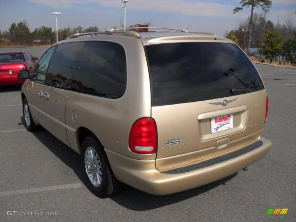 medium resolution of champagne pearl 2000 chrysler town country limited