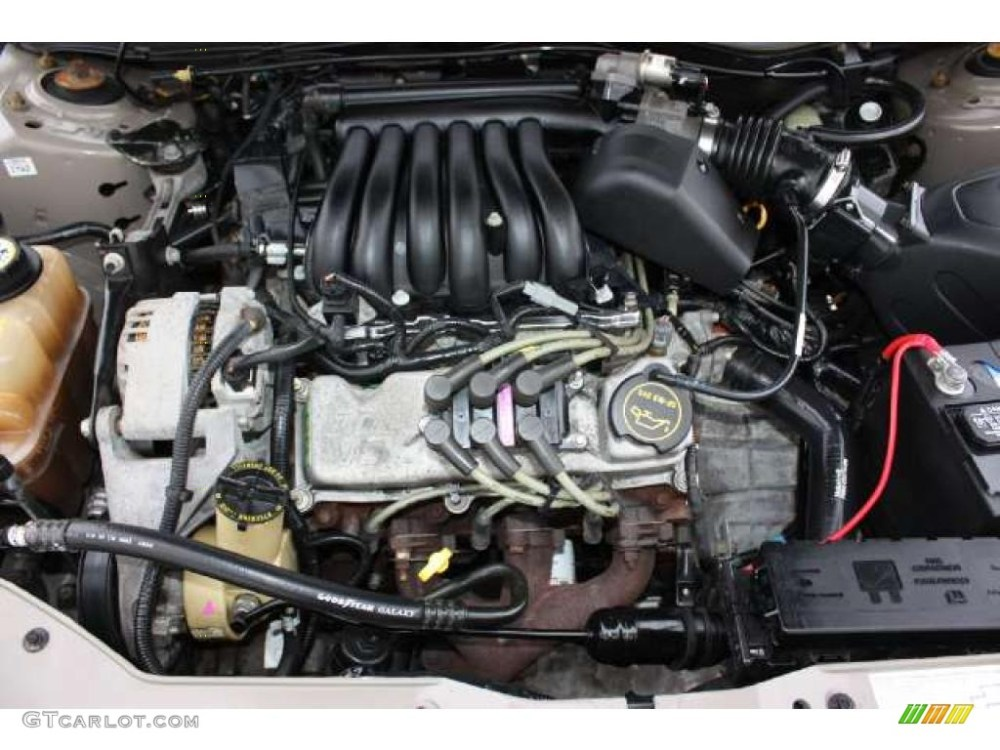 medium resolution of 2003 ford taurus ses 3 0 liter ohv 12 valve v6 engine 2000 ford taurus 3 0 engine diagram 2002 ford taurus engine diagram v6 3 0