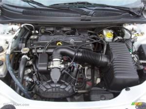 2006 Chrysler Sebring Convertible 24 Liter DOHC 16Valve