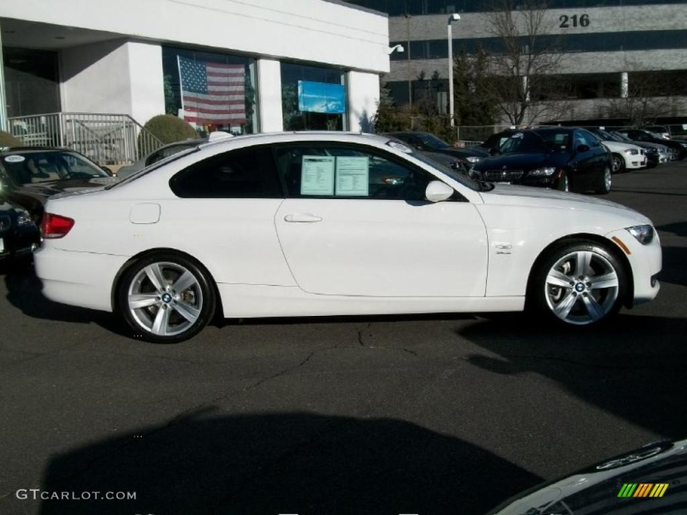 medium resolution of alpine white 2009 bmw 3 series 335xi coupe exterior photo 46238531