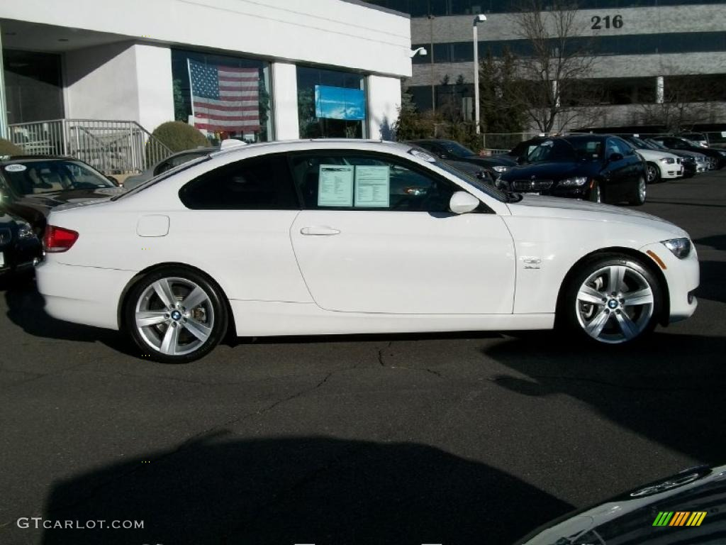 hight resolution of alpine white 2009 bmw 3 series 335xi coupe exterior photo 46238531