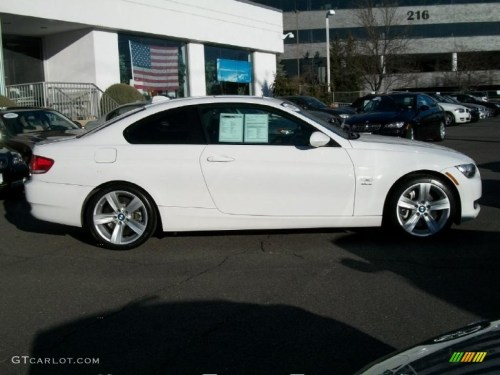 small resolution of alpine white 2009 bmw 3 series 335xi coupe exterior photo 46238531