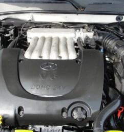 2005 hyundai sonata gls v6 2 7 liter dohc 24 valve v6 engine photo2005 hyundai sonata [ 1024 x 768 Pixel ]