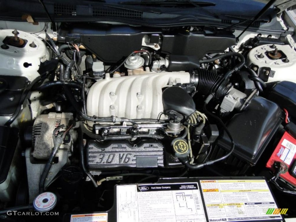 medium resolution of 2006 ford taurus v6 engine diagram
