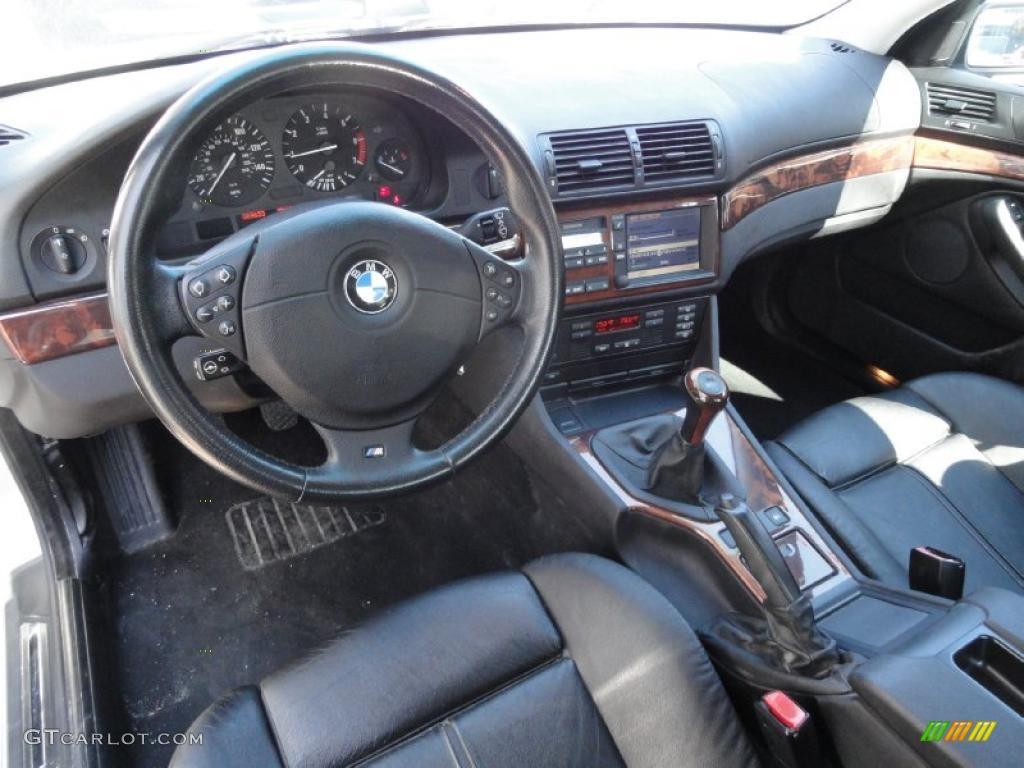 hight resolution of black interior 2000 bmw 5 series 540i sedan photo 46431996