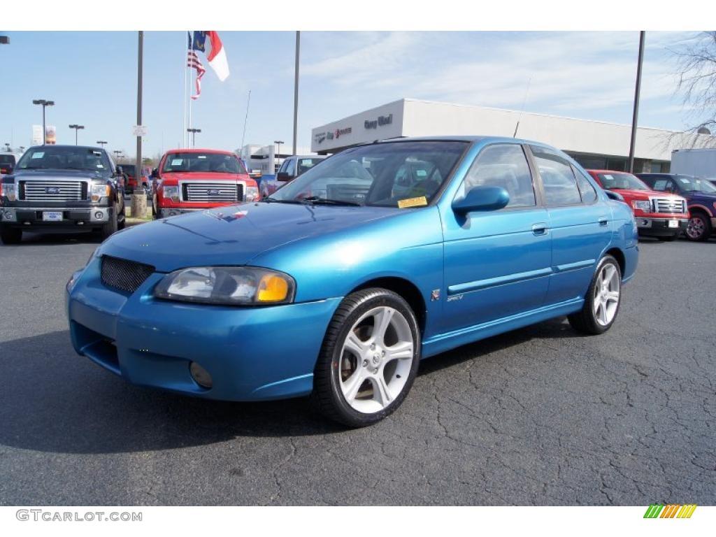2003 Edition Se Special 2 Sentra 5 Nissan Blue