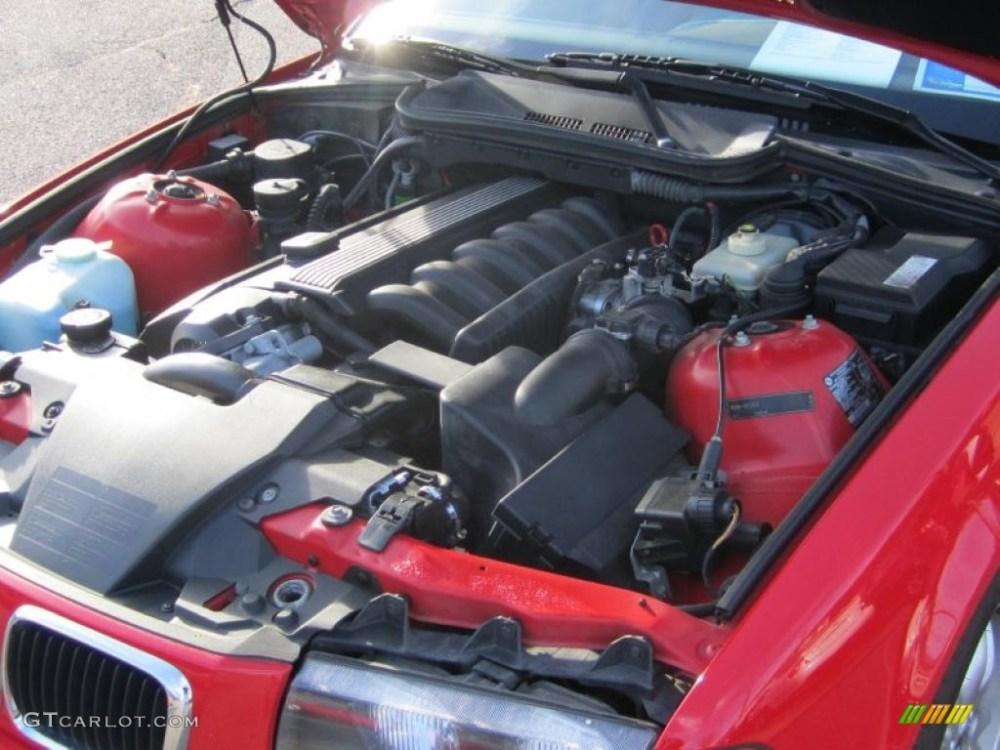 medium resolution of 1998 bmw 3 series 328i convertible 2 8 liter dohc 24 valve inline 6 cylinder engine photo 46443906