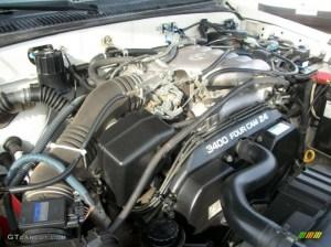 1998 Toyota Taa V6 TRD Extended Cab 4x4 34 Liter DOHC
