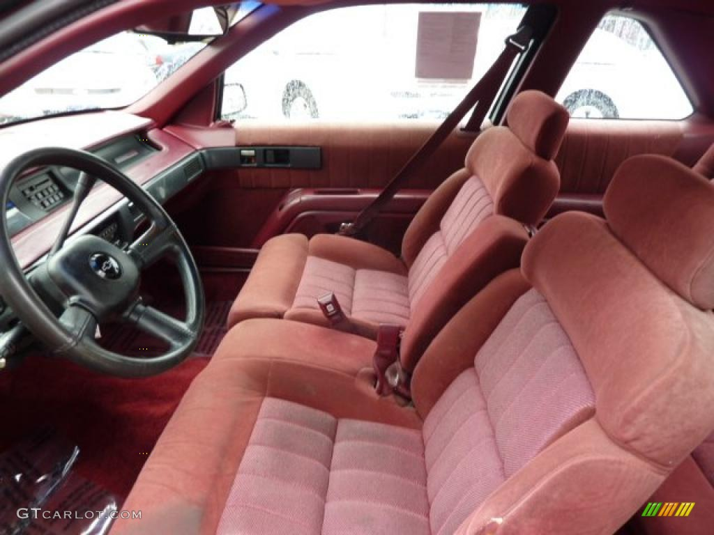 hight resolution of red interior 1993 chevrolet lumina euro coupe photo 46501967