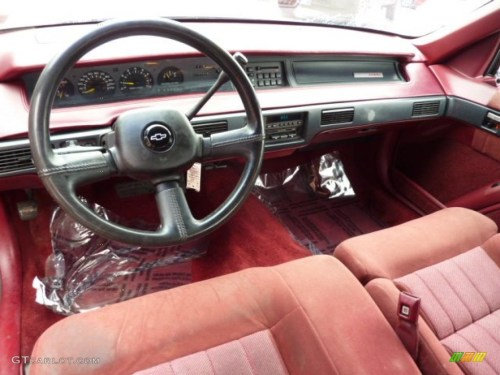 small resolution of red interior 1993 chevrolet lumina euro coupe photo 46502024