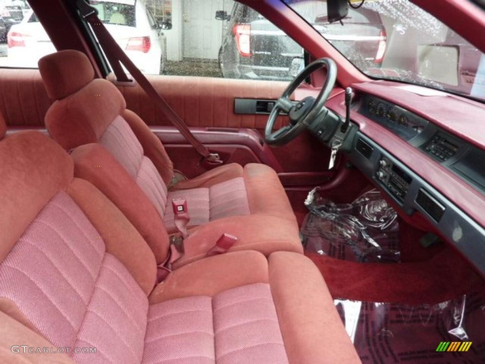 medium resolution of red interior 1993 chevrolet lumina euro coupe photo 46502054