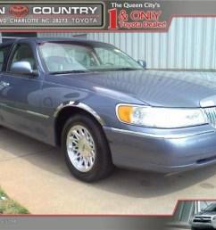 1999 graphite blue metallic lincoln town car signature 46750332 [ 1024 x 768 Pixel ]