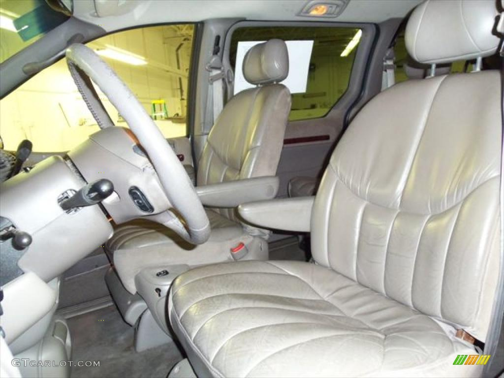 hight resolution of mist gray interior 2000 chrysler town country limited photo 46840683