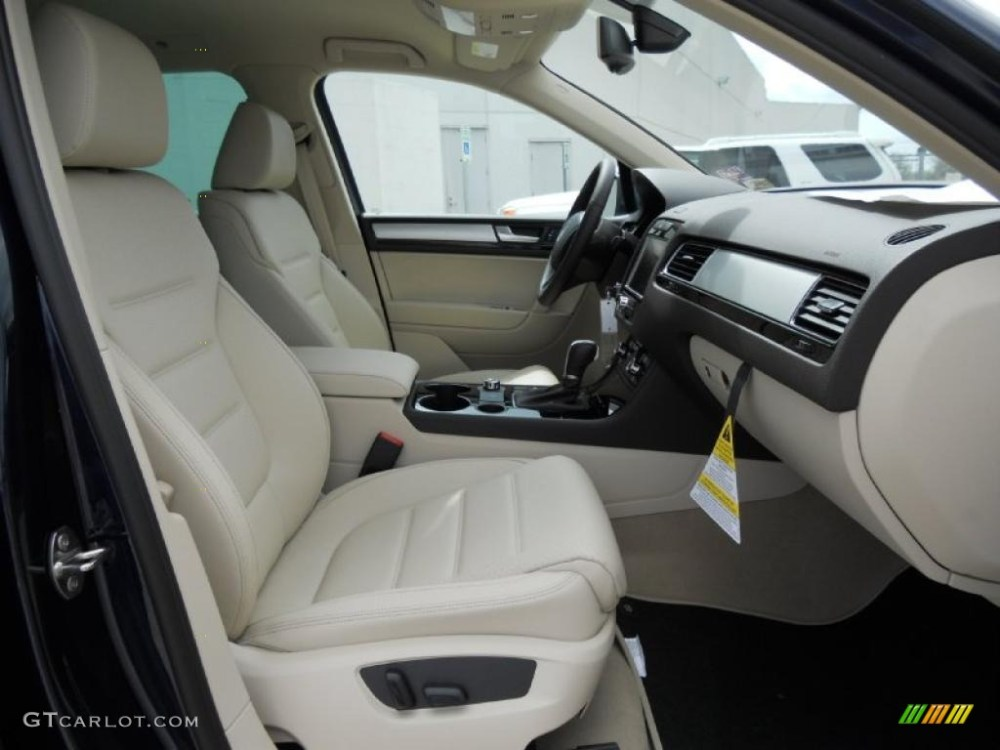 medium resolution of cornsilk beige interior 2011 volkswagen touareg vr6 fsi sport 4xmotion photo 46851264