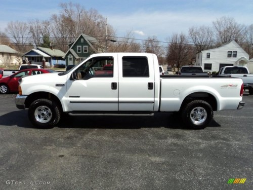 small resolution of oxford white 1999 ford f250 super duty lariat crew cab 4x4 exterior photo 46855161