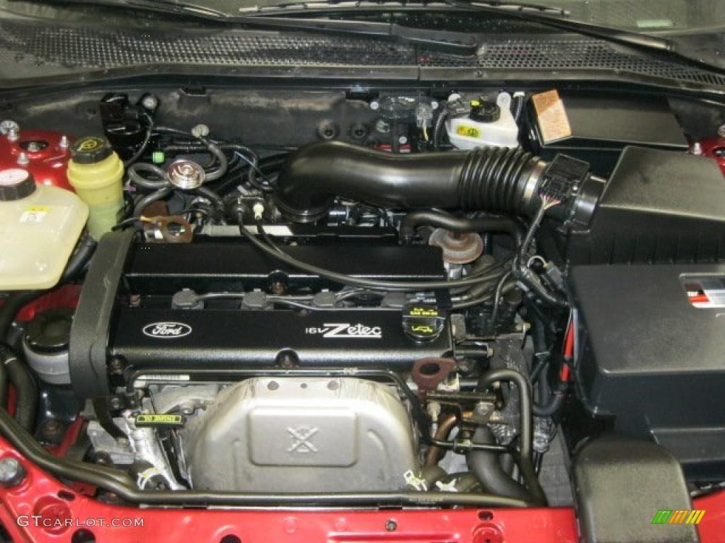 2002 Ford Focus Se Wagon 20 Liter Dohc 16valve Zetec 4 Cylinder