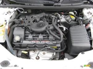 2002 Chrysler Sebring Limited Convertible 27 Liter DOHC