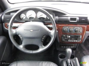 2002 Chrysler Sebring Limited Convertible Dark Slate Gray