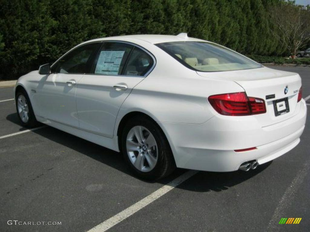 hight resolution of alpine white 2011 bmw 5 series 528i sedan exterior photo 47244476