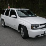 2008 Summit White Chevrolet Trailblazer Ss 47252191 Gtcarlot Com Car Color Galleries