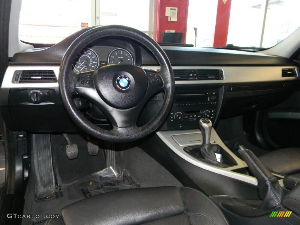 hight resolution of black interior 2006 bmw 3 series 330i sedan photo 47290530