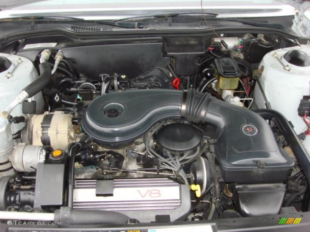 medium resolution of  47323060 1989 cadillac deville sedan 4 5 liter ohv 16 valve v8 engine photo 1989 cadillac
