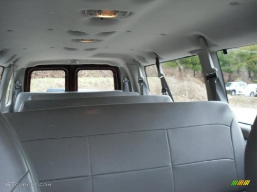 small resolution of medium flint interior 2003 ford e series van e350 super duty xl extended passenger photo