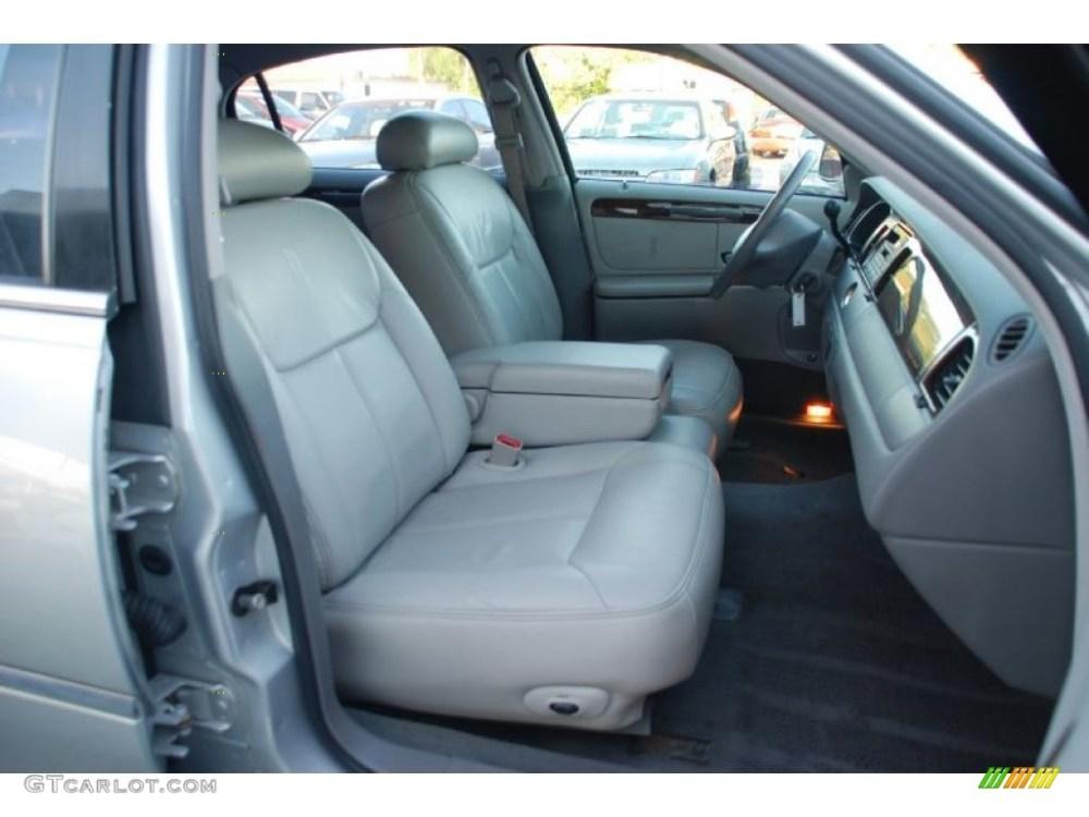 medium resolution of 1998 lincoln town car cartier interior photo 47455603
