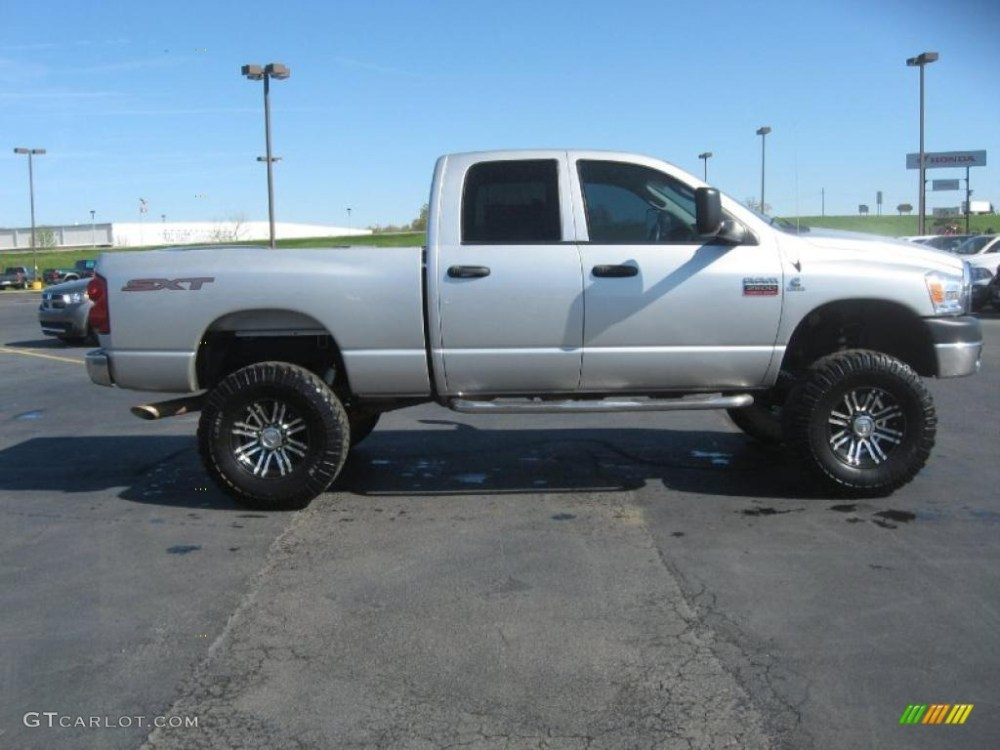medium resolution of 2009 dodge ram 2500 sxt quad cab 4x4 custom wheels photo 47585029