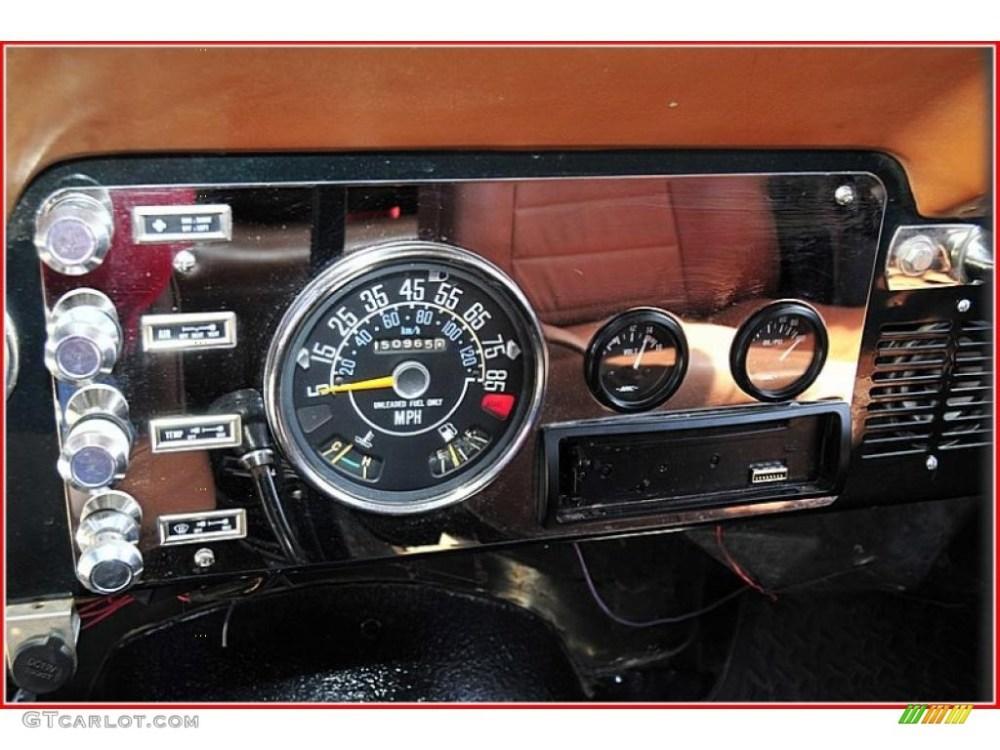 medium resolution of 1983 jeep cj 7 4x4 gauges photo 47781102