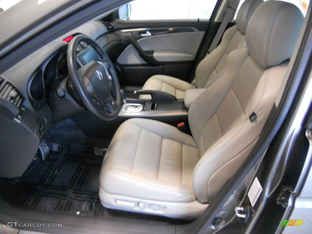 hight resolution of taupe ebony interior 2008 acura tl 3 5 type s photo 47798278