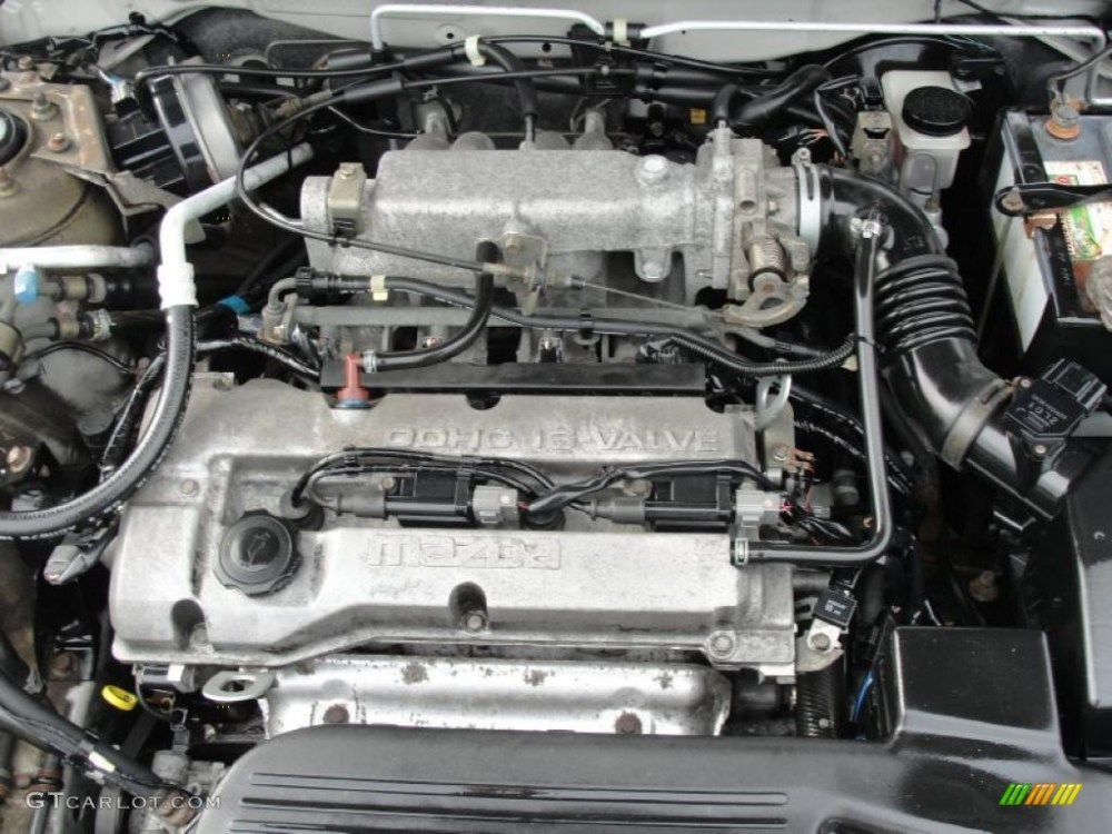 medium resolution of 2000 mazda protege dx engine photos