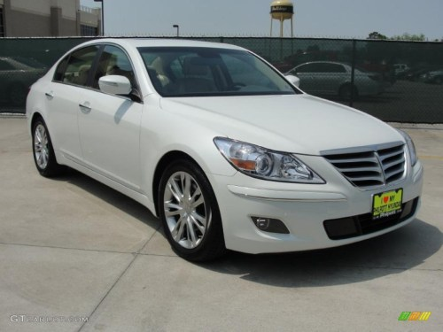 small resolution of white satin pearl hyundai genesis hyundai genesis 3 8 sedan