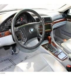 grey interior 2000 bmw 7 series 740il sedan photo 48223964 [ 1024 x 768 Pixel ]