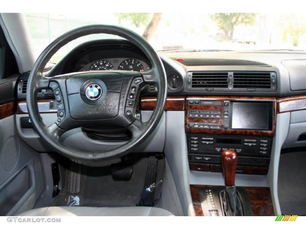 medium resolution of 2000 bmw 7 series 740il sedan grey dashboard photo 48224000