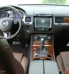 saddle brown interior 2011 volkswagen touareg vr6 fsi executive 4xmotion photo 48323267 [ 1024 x 768 Pixel ]