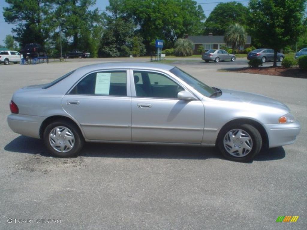 2002 Mazda 626 Lx White
