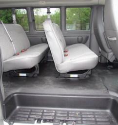 all chevy 2011 chevrolet express 2011 chevrolet express ls 3500 passenger van interior photo  [ 1024 x 768 Pixel ]