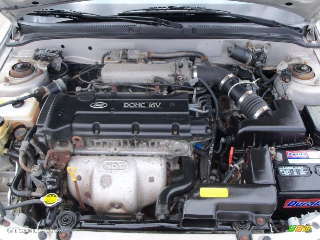 Hyundai Elantra 1999 Engine Layout