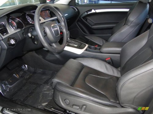 small resolution of black interior 2010 audi a5 3 2 quattro coupe photo 49005392