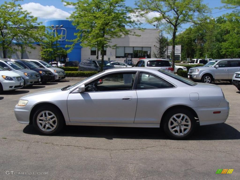 hight resolution of 2002 accord ex v6 coupe satin silver metallic black photo 1